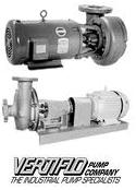 Vertiflo Horizontal End Suction Pumps New Jersey Pennsylvania Delaware NJ PA DE
